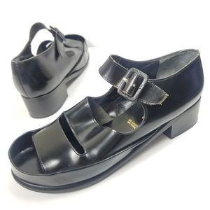 robert clergerie paris sandal 42.5 Euro black